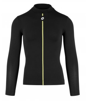 Assos Термомайка с длинным рукавом ASSOSOIRES Spring Fall LS Skin Layer blackSeries
