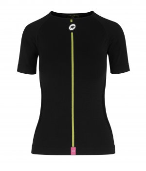 Assos Термомайка с коротким рукавом ASSOSOIRES WOM Spring Fall SS Skin Layer blackSeries