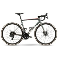 BMC Велосипед шоссейный BMC Teammachine SLR ONE Antracite prisma/White Force AXS 2021