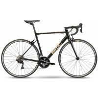 BMC Велосипед шоссейный BMC Teammachine ALR ONE black/gold Shimano 105 2021