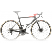 BMC Велосипед шоссейный BMC Teammachine SLR01 ONE Dura Ace Di2 Carbon/white/red 2021