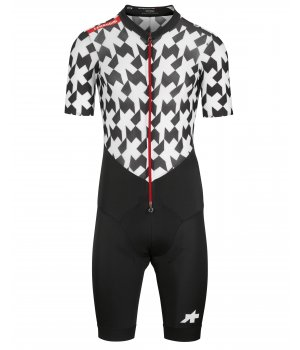 Assos Велокомбенизон мужской Lehoudini Rs Aero Roadsuit S9 Holy White