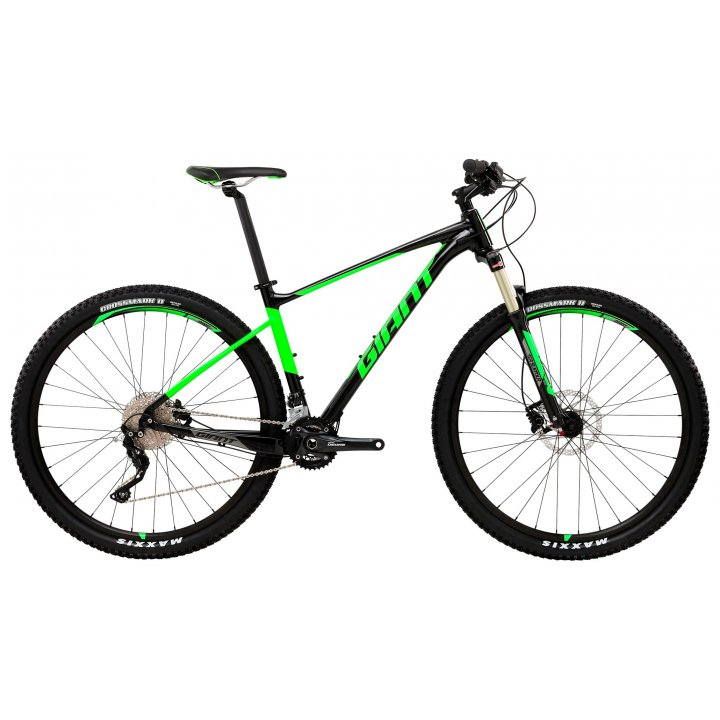 Giant Fathom 29er 2 LTD (2017) чёрный