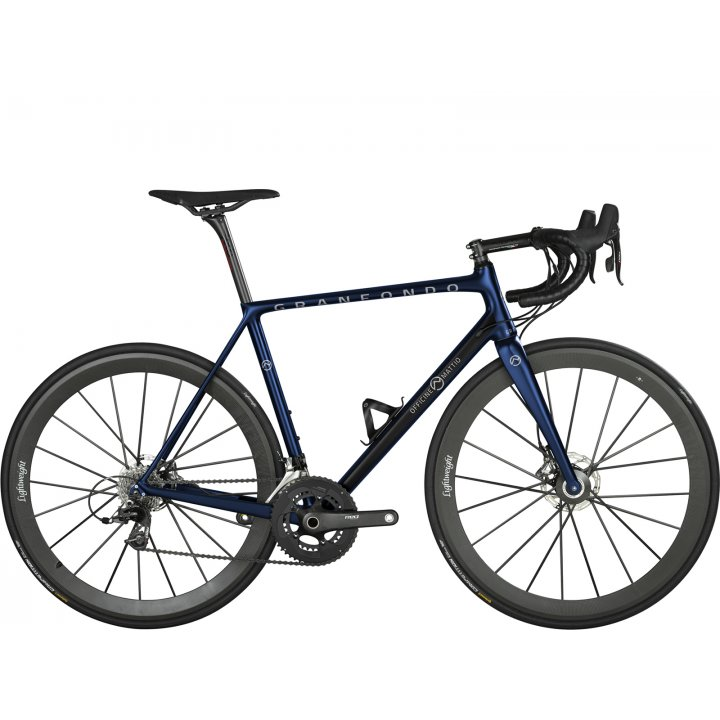 Officine Mattio Granfondo Disc Campagnolo Super Record Eps Blue 2018
