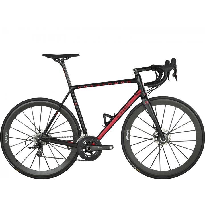 Officine Mattio Granfondo Disc Campagnolo Super Record Eps Black Red 2018