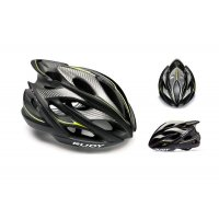 Rudy Project Windmax Blk Yel Flu White Matte