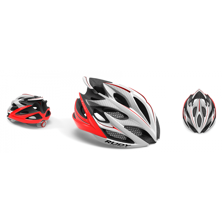 Rudy Project Windmax Wh Red Fluo Shiny L