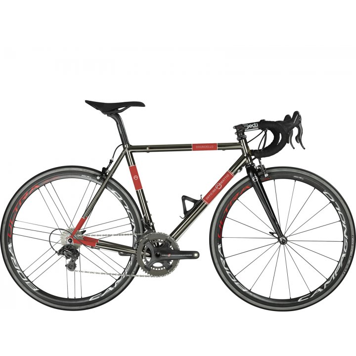 Officine Mattio Brondello Classic Shimano Dura Ace Di2 Black Red 2018