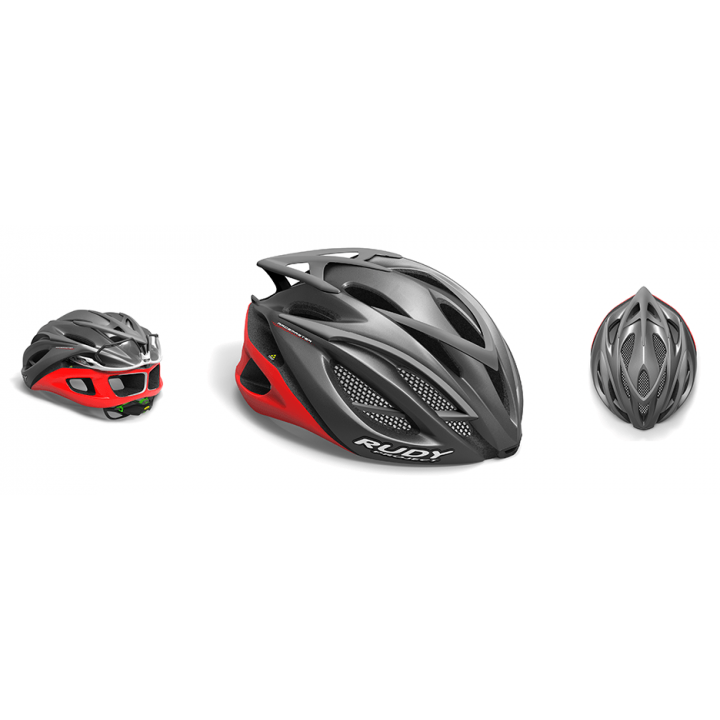 Rudy Project Racemaster Graphite Red