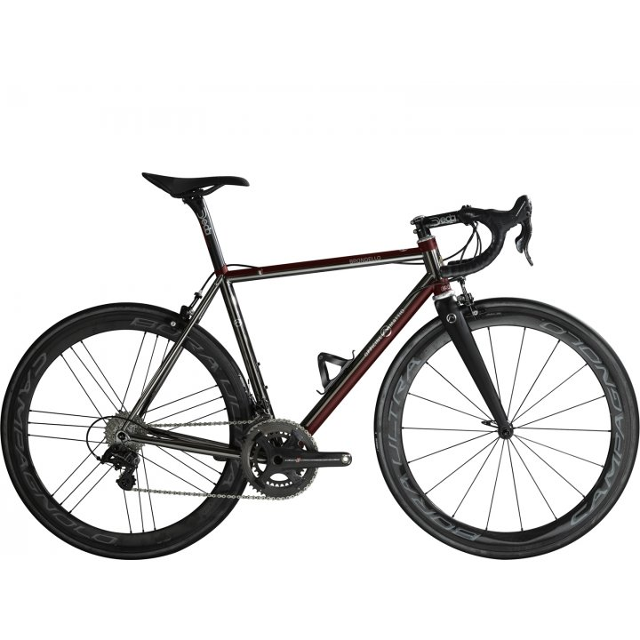 Officine Mattio Brondello Oversize Campagnolo Super Record Eps Black Red 2018