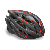 Rudy Project Sterling Black Red Fluo Matt