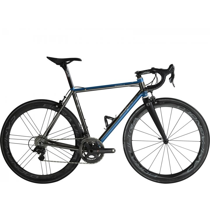 Officine Mattio Brondello Oversize Campagnolo Super Record Eps Black Blue 2018