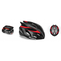 Rudy Project Rush Black Red Fluo Shiny