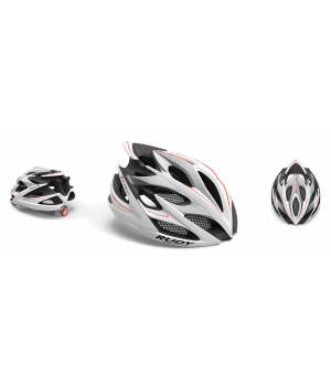 Rudy Project Windmax White Silver Red Shiny
