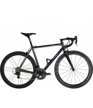 Officine Mattio Brondello Oversize Campagnolo Super Record Eps Black Blue Matt 2018