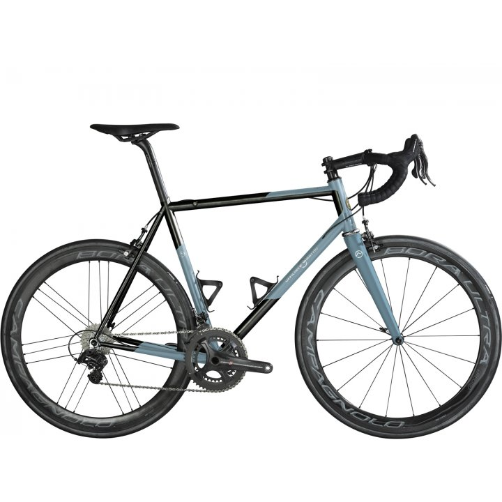Officine Mattio Eremo Oversize Campagnolo Super Record Eps Black Blue Matt 2018