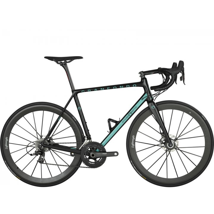 Officine Mattio Granfondo Disc Campagnolo Super Record Eps Black Blue 2018