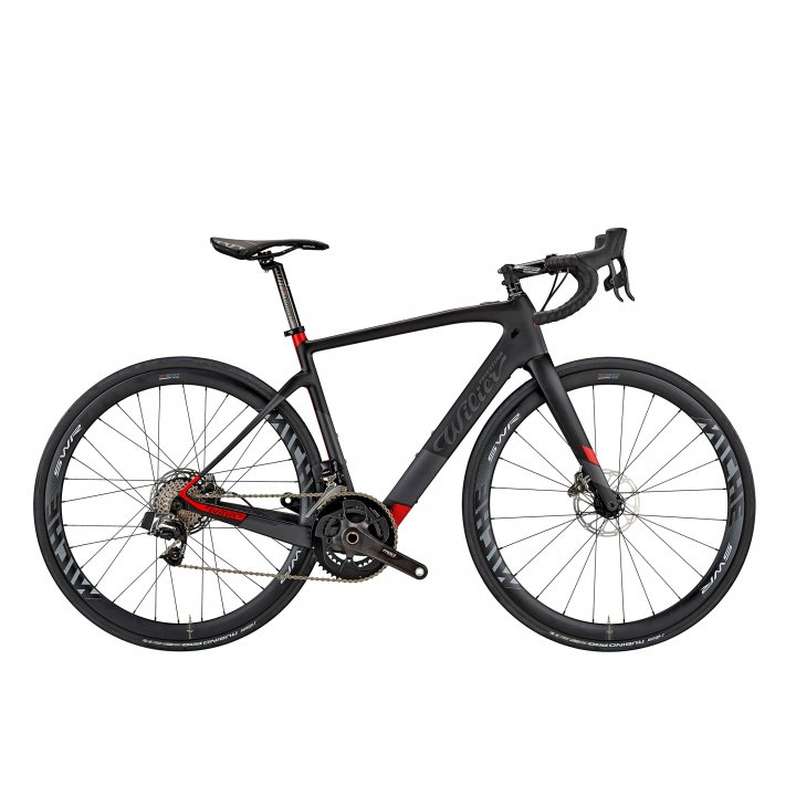 Wilier CENTO1 HYBRID ULTEGRA MICHE BLACK/RED 2019