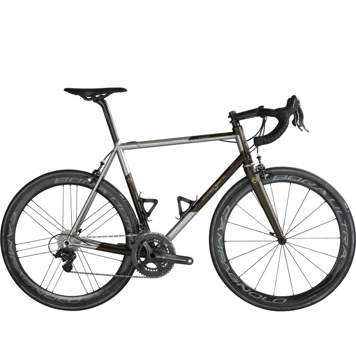 Officine Mattio Eremo Oversize Shimano Dura Ace Di2 Steel Brown 2018